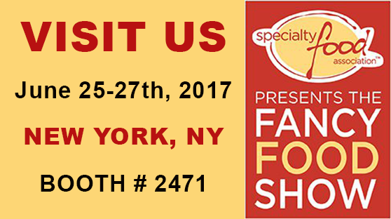 Visit Us at the Summer Fancy Food Show 2017