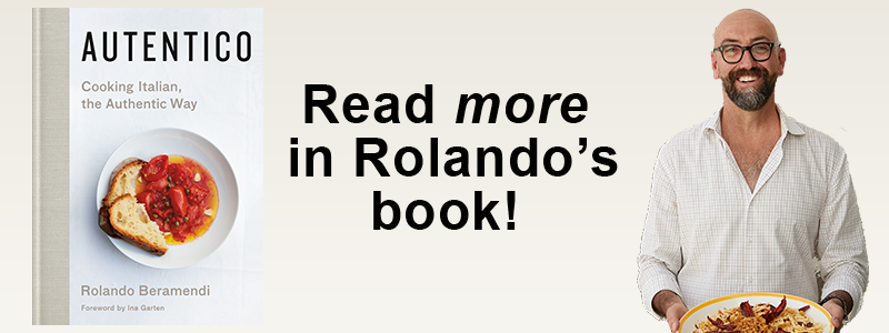 More About Balsamico In Rolando's New Book