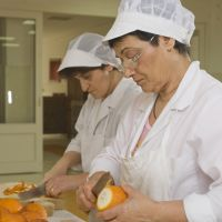 The marmalades are made entirely by hand.