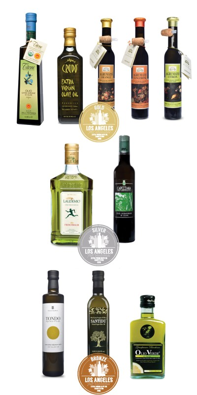 2018 LA International Olive Oil Competition Winners