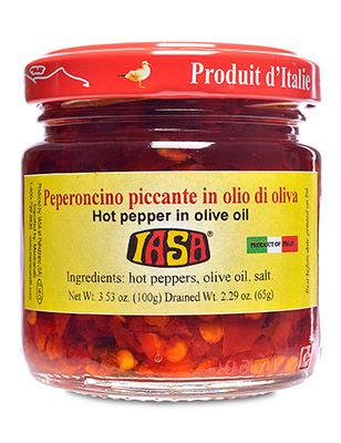 Hot Pepper in Olive Oil