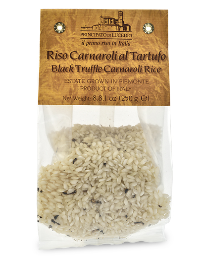 Carnaroli Rice with Black Truffles