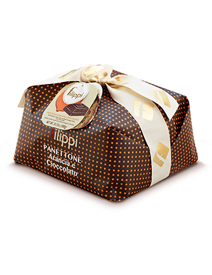 Candied Orange and Chocolate Panettone with Pearl Sugar