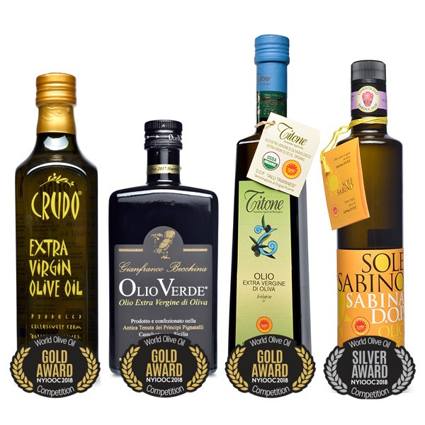 2018 World's Best Olive Oils from the NY International Olive Oil Competition
