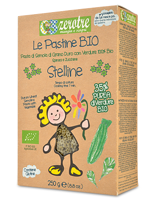 ZeroTre Stelline with Vegetables Pastina
