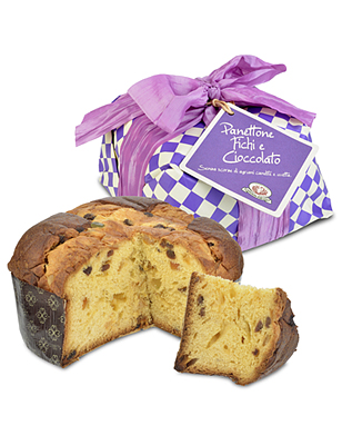 Panettone with Fig & Chocolate