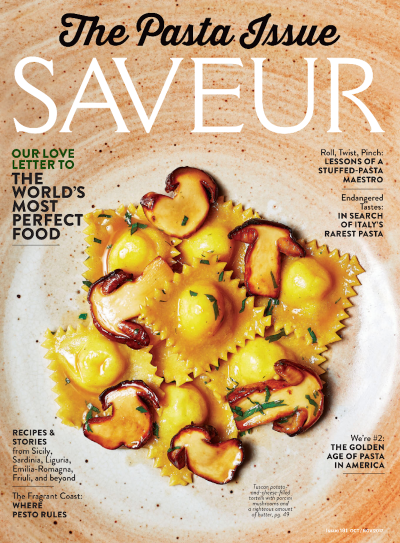 Dried pasta finally gets the respect it deserves in Saveur Magazine